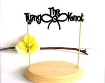 """""""tying the knot"""" wedding cake topper - Google Search"""