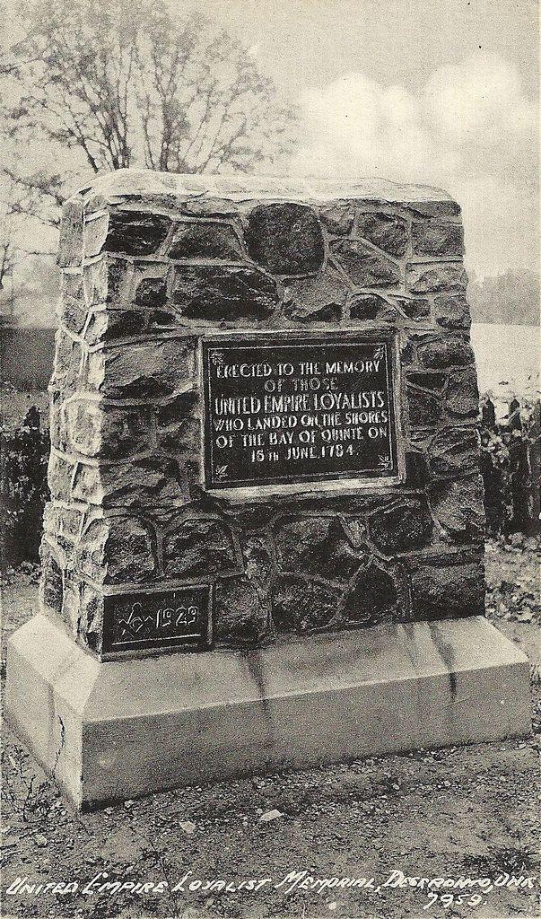 United Empire Loyalist memorial | Flickr - Photo Sharing!