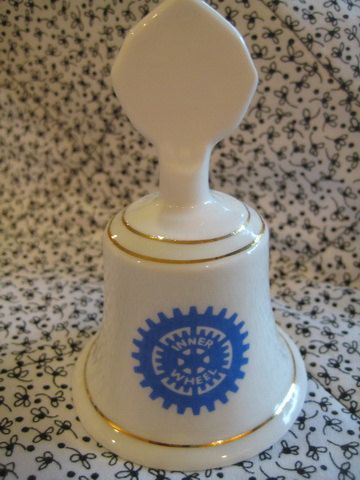English Inner Wheel 60th Anniversary Commemorative Bell by mbguest, $20.00