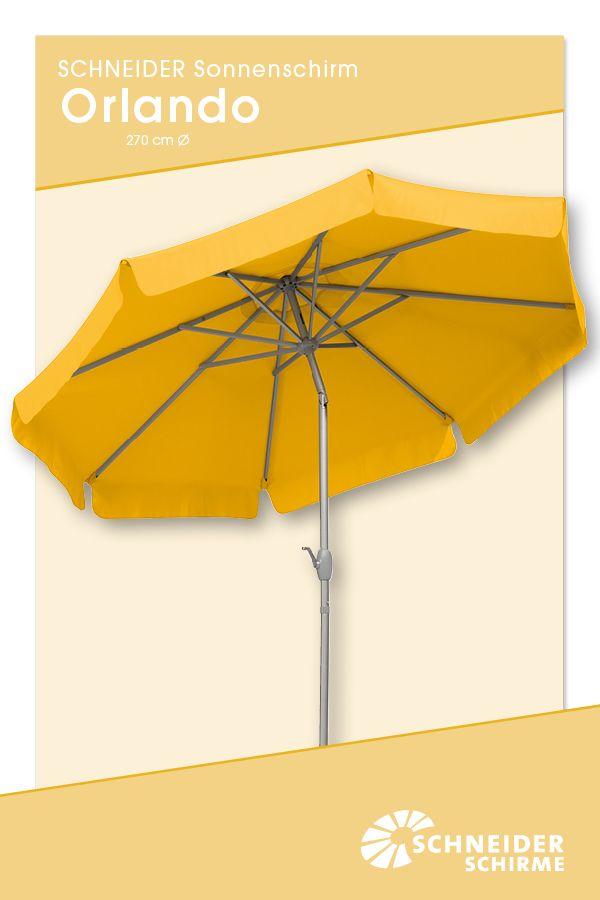 Sonnenschirm Orlando 270 Cm O Bespannung 100 Polyester Ca