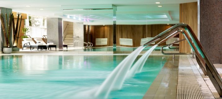 Indoor swimming pool at Wyndham Grand Chelsea Harbour