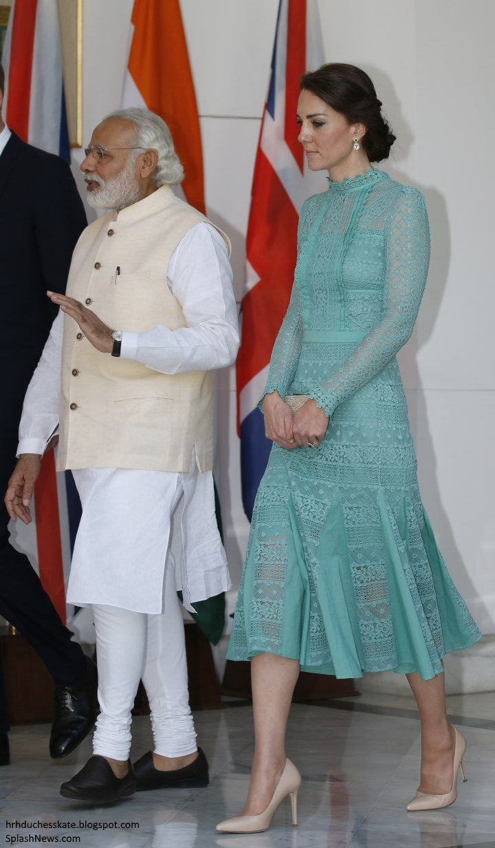 For their final engagement in Delhi, the Duke and Duchess of Cambridge attended a luncheon with Prime Minister Narendra Modi.      The Prime...
