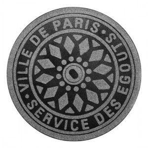 Felpudo Alcantarilla de París / Paris Manhole Cover Doormat · Tienda de Regalos originales UniversOriginal