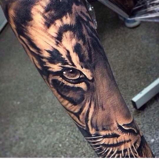 This Is My Next Tattoo Finishing My Half Sleeve Tattoo Tiger Halfsleeve Greatsleevetattoos Tiger Tattoo Design Tattoos Tiger Tattoo Sleeve