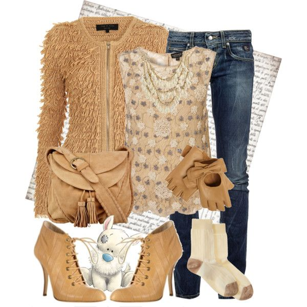 Camel, Suede and Denim, created by fashionmonkey1 on PolyvoreWomen Outfit, Fashion Monkeys, Women Fashion, Camel, Stylish Women, Denim Outfit, Beautiful, Hot Fashion, Style Pinboard