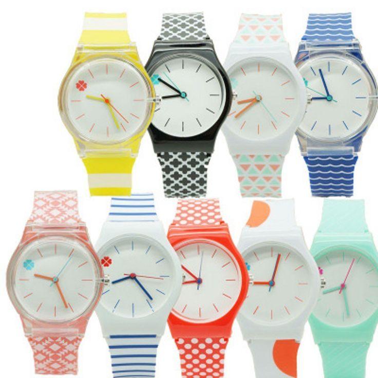New Girl kid Fashion Clover flower ladies wristwatch Sports Children Plastic Watches Casual Relogio femininos montre femme Clock