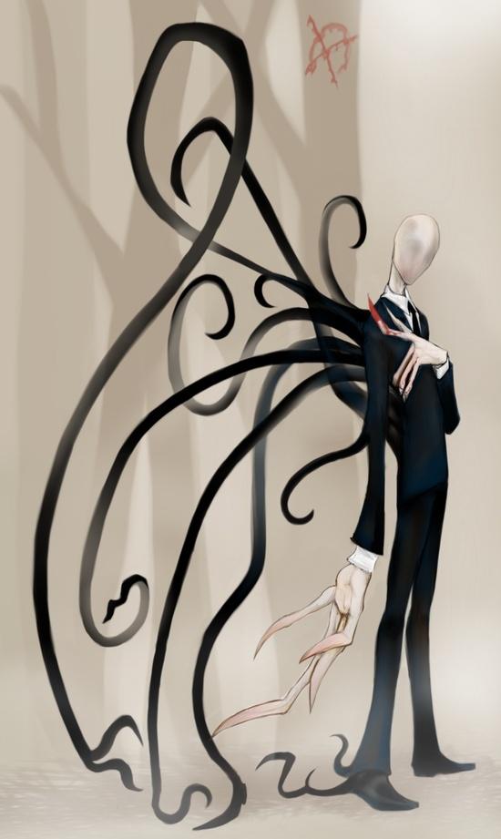 slender man art