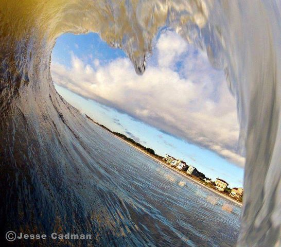 Amazing shot - heart wave   #huntingtonbeach #surfcityusa #WanderMuch