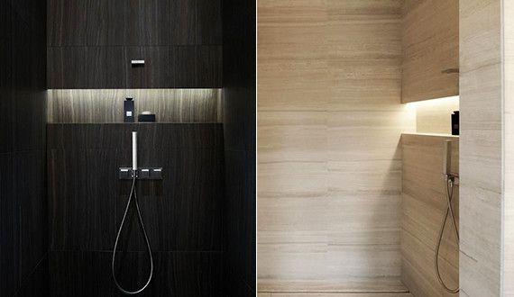 Bad Modern Gestalten Mit Licht Coole Badezimmer Ideen Fur Dusche