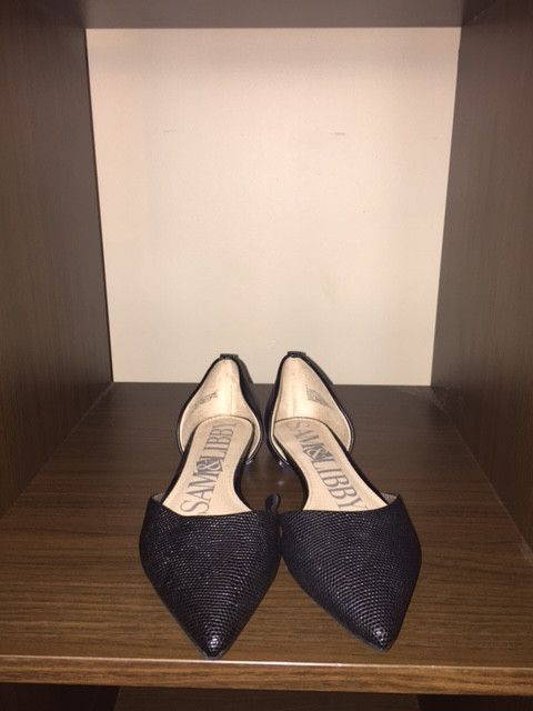 Sam and Libby Black Shoes