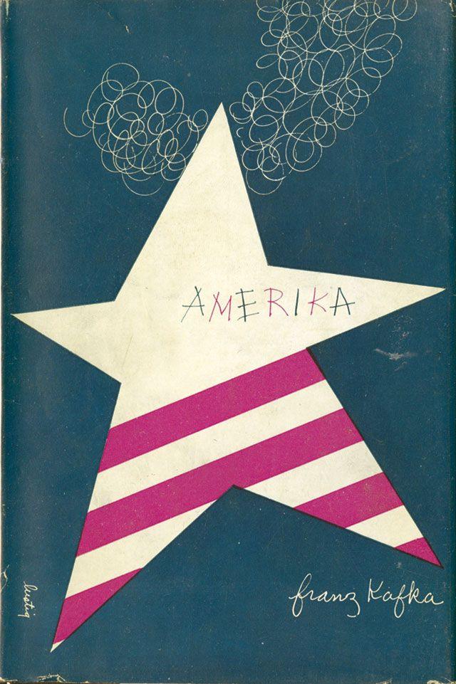 Alvin Lustig: Franz Kafka, Amerika, A New Directions Book, 1946 (Courtesy CVA)