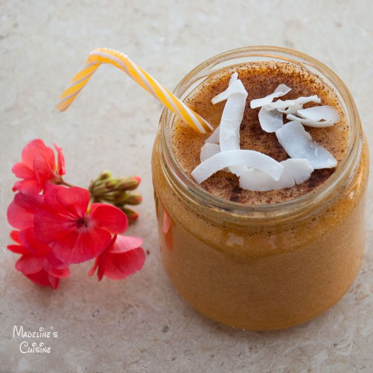 Smoothie raw de dovleac / Raw pumpkin smoothie - Madeline's Cuisine