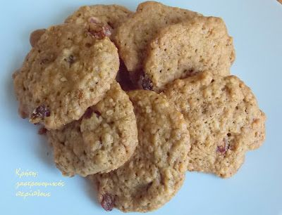 Κρήτη:γαστρονομικός περίπλους: Τα πιο υγιεινά και εύκολα μπισκότα βρώμης
