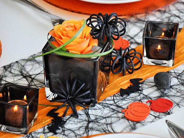 8 best tischdeko halloween images on pinterest birthdays communion and tutorials - Tischdeko halloween ...