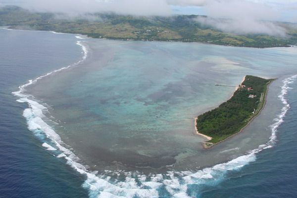 Explore The Beauty Of Caribbean: Cocos Island Aerial, Guam USA