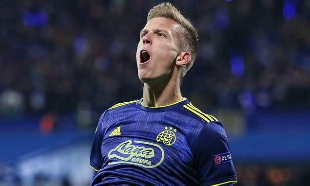 Barcelona Present Dinamo Zagreb With A Formal Offer For Dani Olmo Six Years After He Left The Club Get The Latest News Barcelona Football Barcelona Zagreb