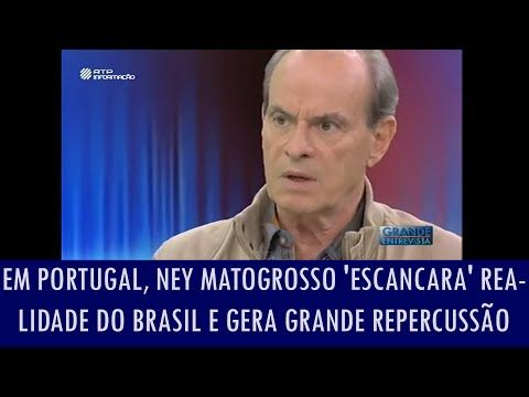 Folha Política: Em Portugal, Ney Matogrosso 'escancara' realidade do Brasil e gera grande repercussão; veja o vídeo