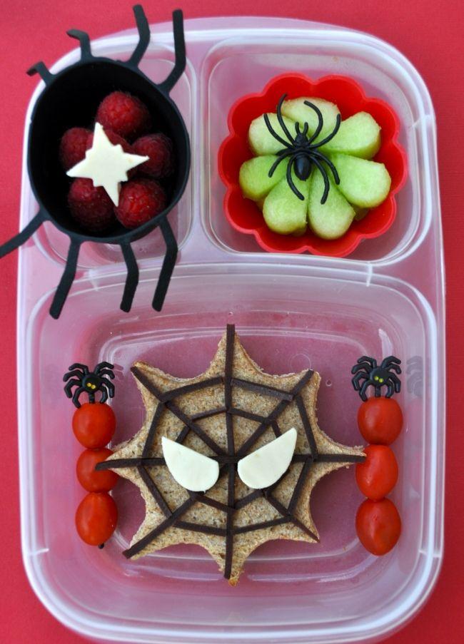 Boy's Spidey Bento Lunchbox Ideas