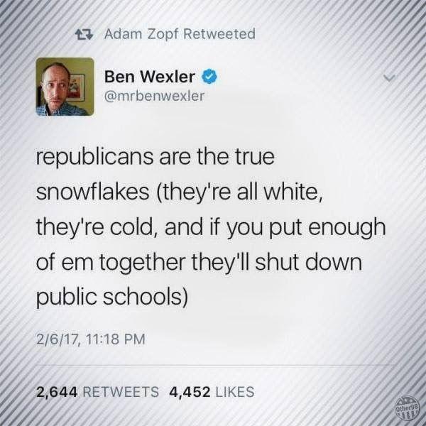 Snowflakes deplorable Donald trump god bless America make America great again