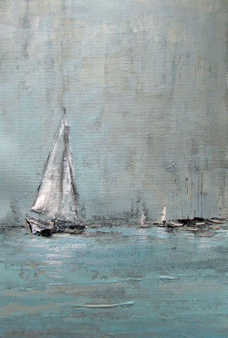 Malarstwo olejne, marynistyka by Sylwia Michalska