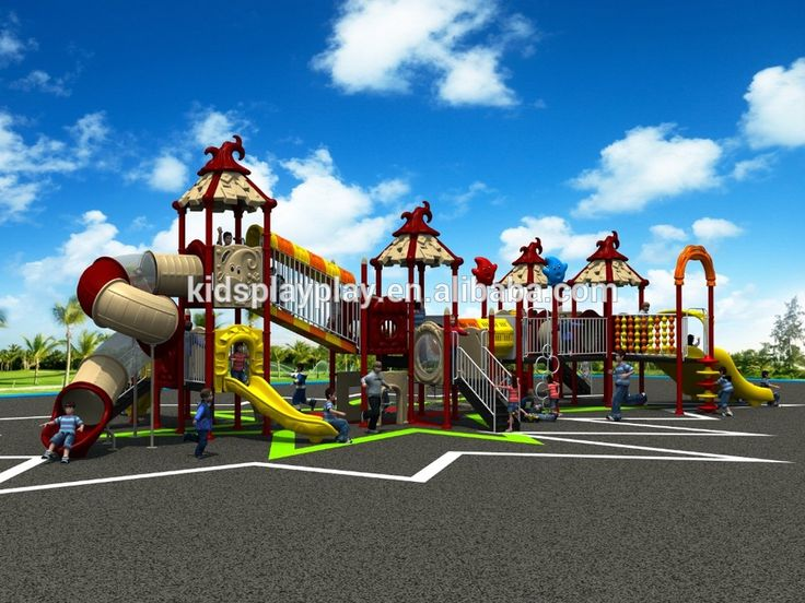 new commercial set toy outdoor playground for sale