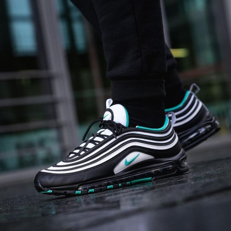 Nike Air Max 97 Black / Emerald - #air #Black #Emerald #Max ...
