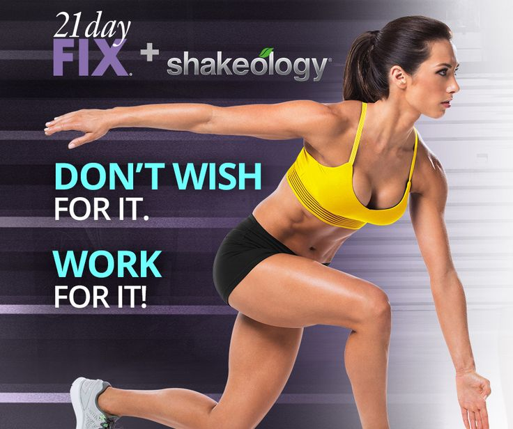 In 21 days, you could get beach-ready for a vacation. Look drop-dead great at your upcoming reunion. Or jump-start a major weight-loss goal. It's simple, it's fast, and it works. So stop wasting time on diets that don't get results. If you're ready to get serious, 21 Day Fix can help you lose the weight.