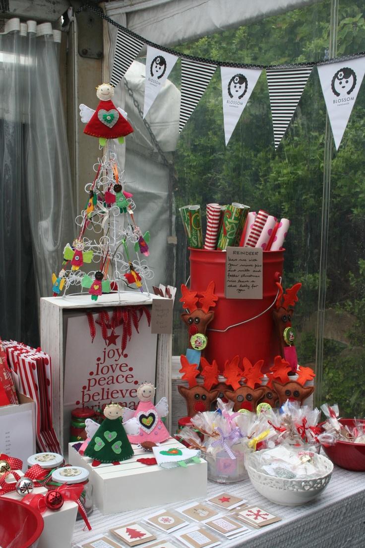 Blossom Handmade at christmas fair 2011