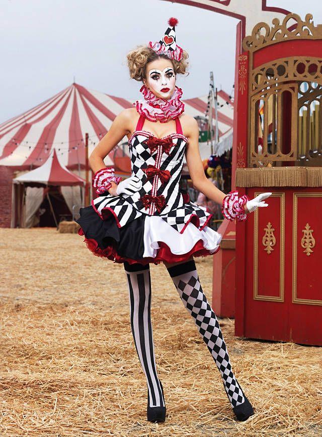 Sexy Harlekin Premium Edition Kostüm