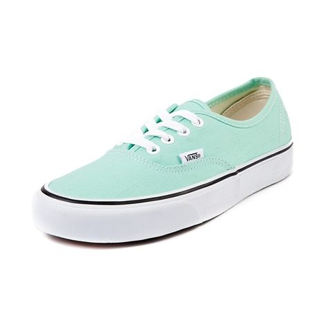 Shop for Vans Authentic Skate Shoe in Beach Glass Mint at Journeys Shoes. Shop today for the hottest brands in mens shoes and womens shoes at Journeys.com.The Authentic from Vans is always in style. Rockin a warm weather beach glass canvas upper with lace closures and rubber waffle tread outsole. Available for shipment in May; pre-order yours today!