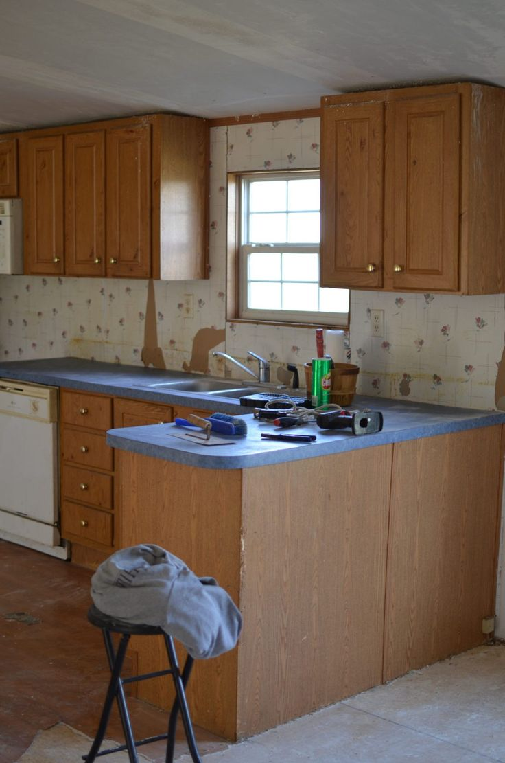 Double Wide Kitchen Remodel in 2020 | Kitchen remodel ...