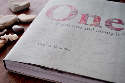 Such a beautiful coffee table book. Textured page backgrounds, nature-inspired prints and textile patterns throughout. 'One' by Victoria Alexander.