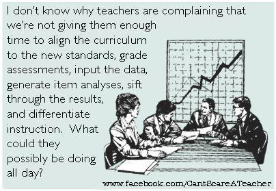 What are teachers doing ALL day?! Ha!!