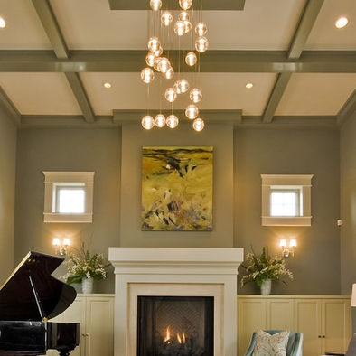 117 best images about for the home on pinterest villas - Ceiling light ideas for living room ...