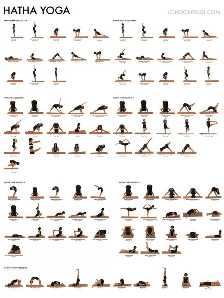 Hatha Yoga sequence                                                                                                                                                                                 More