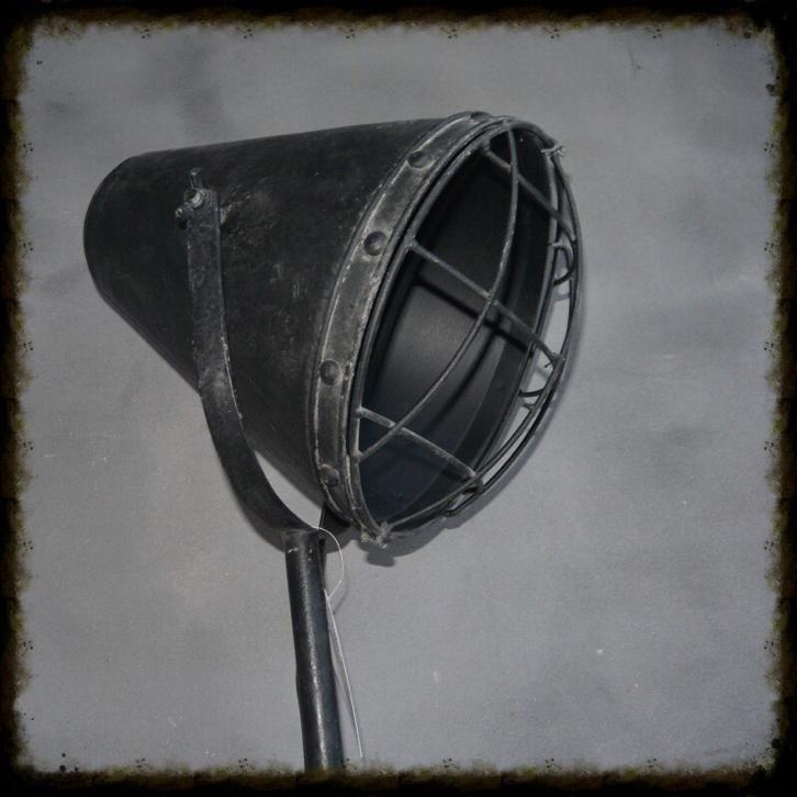 ≥ Treklamp old look zwart staande gaas hang muur bureau lamp - Lampen | Overige - Marktplaats.nl