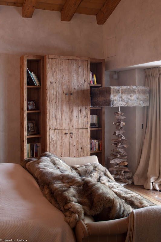 Great alternative to shelves in the bedroom, this bookcase also incorporates cupboards to keep things you don't want on display stashed away  #storage #cleverdesign #design #interiors #interiordesign #designer #homes