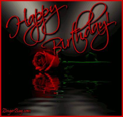Kattintson, hogy a kódokat ez a kép.  Boldog születésnapot Hosszú Stemmed Rose Gondolatok, Happy Birthday, népszerű kedvencek, Születésnapi virágok, Születésnapi hullámai és reflexiók, Boldog születésnapot Szabad kép, Glitter Grafika, Köszöntő vagy Meme a Facebook, a Twitter vagy a fórum vagy blog.