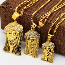 25 pinterest 24k gold plated iced out lab simulated diamond mini micro jesus piece pendant necklace and 24 mozeypictures Images