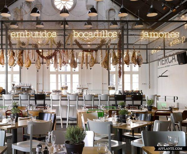 Mercat Restaurant in Amsterdam // Concrete | Afflante.com