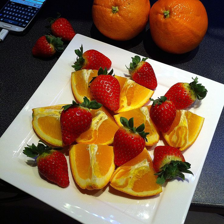Orange x strawberries