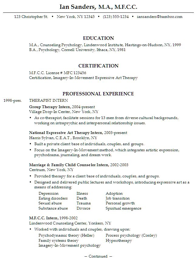 The 25+ best Resume objective sample ideas on Pinterest Sample - examples of resumes for internships
