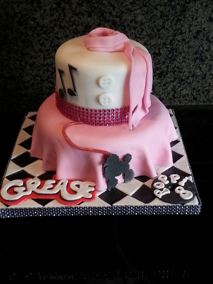The 15 best images about Grease theme cakes on Pinterest ...