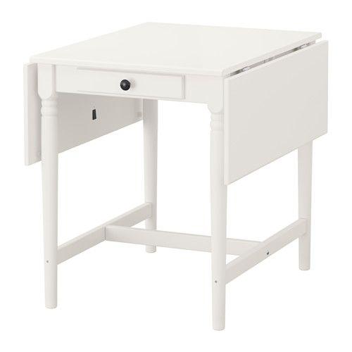 INGATORP Mesa de abas rebatíveis IKEA Mesa com abas rebatíveis para 2-4 pessoas; permite adaptar o tamanho da mesa de acordo com as suas necessidades.