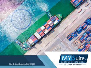 COMPROBANTE FISCAL DIGITAL. MYSuite. Las facturas en operaciones de exportación deben incluir entre otra información, el identificador fiscal del importador o receptor y en su caso, del destinatario de las mercancías exportadas; debiendo ser referenciadas, además, en el pedimento. En MYSuite podemos orientarle y ayudarle a realizar estas facturas, le invitamos a visitar nuestra página en internet http://www.mysuitemex.com/, para conocer nuestros servicios. #facturación