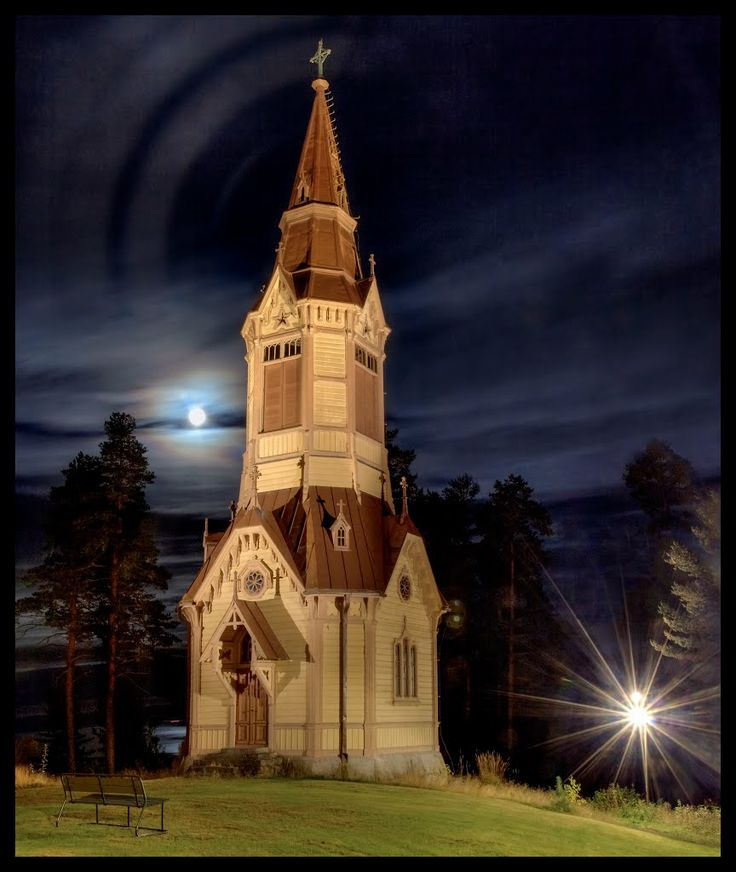 Kellotapuli, The Bell Tower of Korpilahti (Alfred Cavén, 1885), photo jknaus