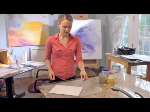 Watercolor 101: How to Stretch Your Paper