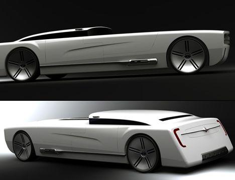pictures of futuristic cars | Future American Icon Car Nebula by Colin Pan 01