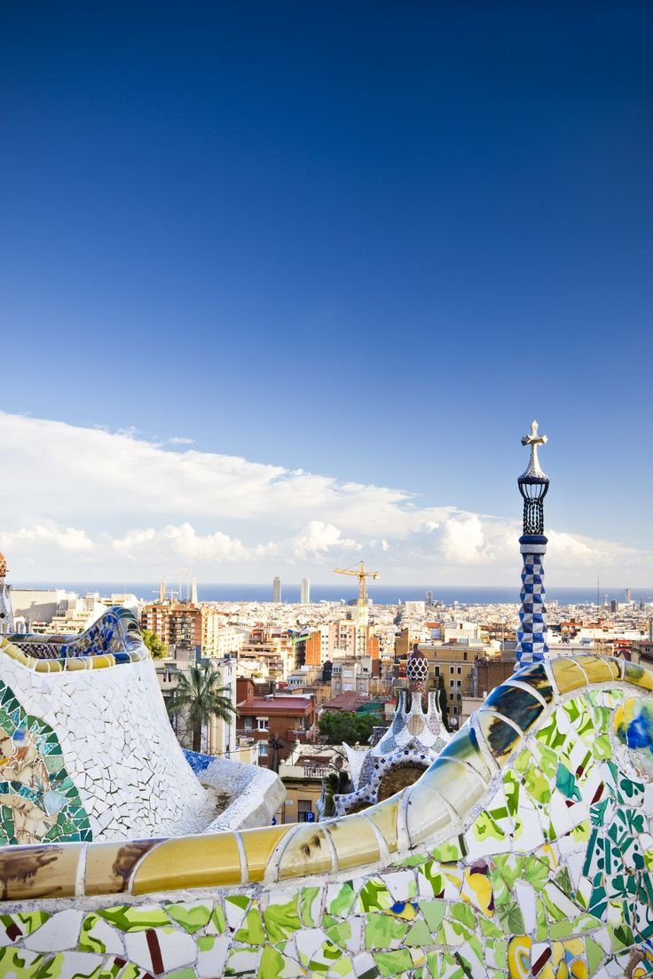 Park Güell is known as one of Gaudí's most colorful works and its expansive display of this artist's playful architecture is what makes it one of Barcelona's top attractions. While the park was originally meant to be a housing development for rich socialites, when the wealthy decided not to move to the hilltop, it became a public playground.