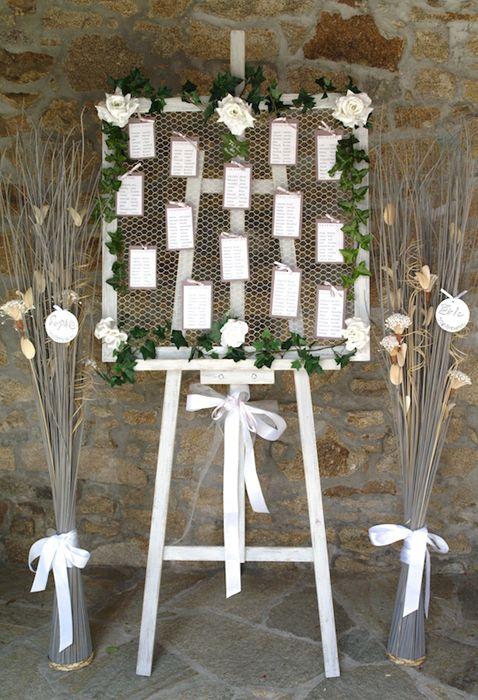 Chevalet plan de tables - Loc housse décoration